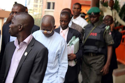 Steven Oronsaye Former Head of Service granted N10m bail by court for corruption charges