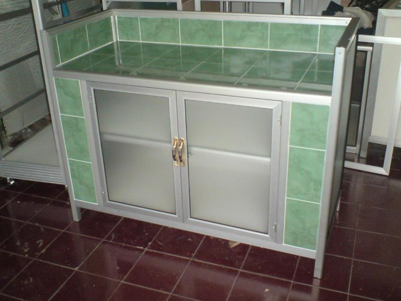 Meja Dapur Aluminium Desainrumahid com