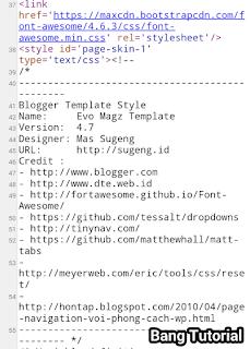 Hasil Source Kode Yang Berisi Data Template