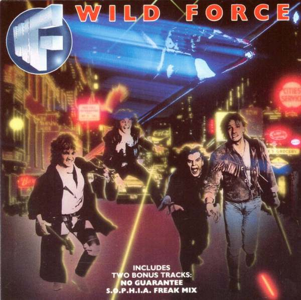 WILD FORCE - Wild Force [CD version +2] (1987) front