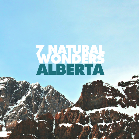 7 Wonders Alberta Natural Areas