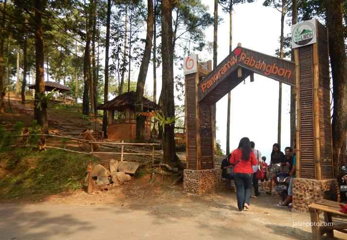 Tempat wisata yang lagi hits di bogor Panorama Pabangbon