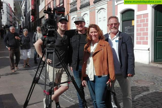 La televisión danesa emitirá dos reportajes especiales sobre la naturaleza y el patrimonio histórico-cultural de La Palma