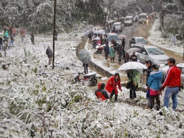 Ha Giang romantic snowy season 3