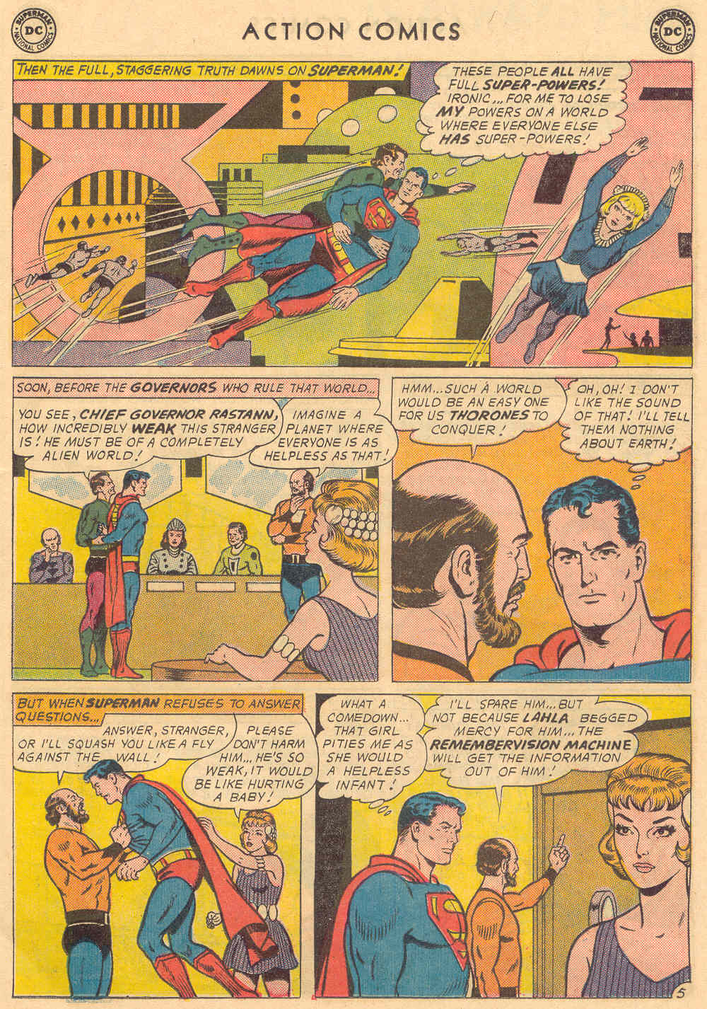 Read online Action Comics (1938) comic -  Issue #321 - 7