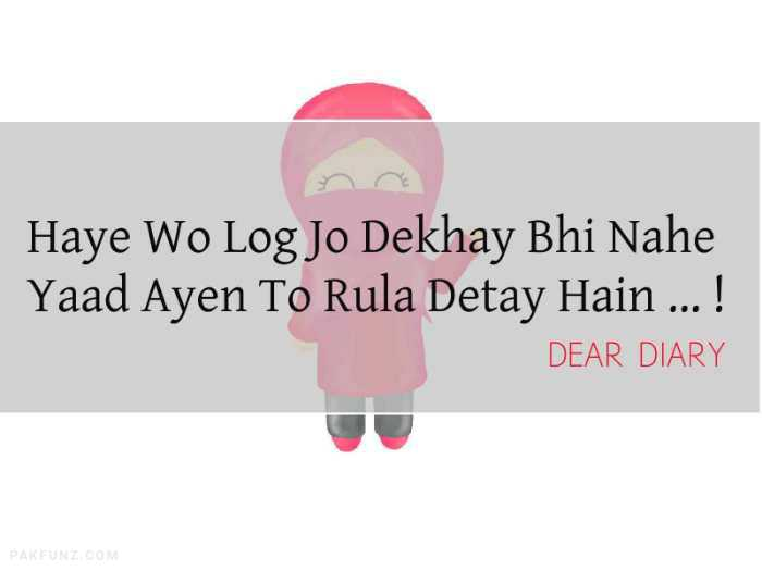 36+ Dear Diary Beautiful Shayari