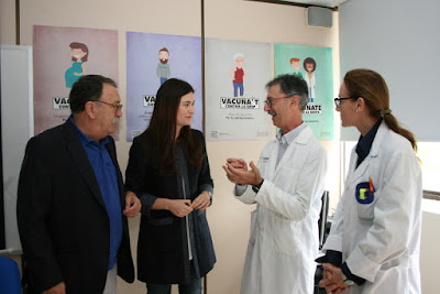 Sanitat inicia la campaña contra la gripe con el objetivo de aumentar la vacunación entre mayores de 60 años, profesionales sanitarios y los grupos de riesgo