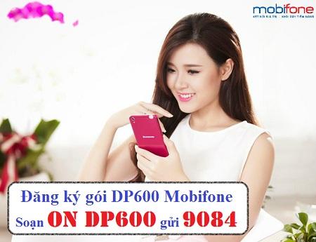 Đăng ký gói DP600 Mobifone