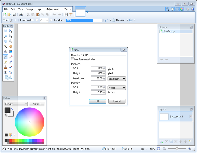 Paint. Net 4. 1. 5 | software downloads | techworld.