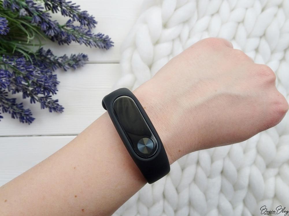 Xiaomi Mi Band 2 zegarek opaska sportowa czarna black
