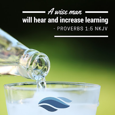 A wise man will hear and increase learning.