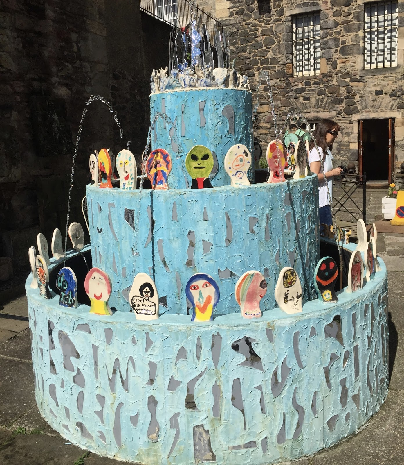 F Is For The U0027Fountain Of Youthu0027: Artist Sally Hackett In Edinburgh