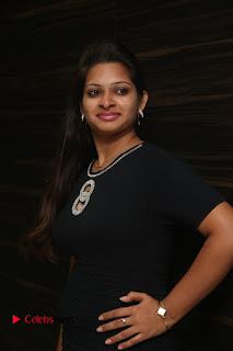 Actress Jyo Stills in Black Short Dress at Dwaraka Movie Audio Launch 0015