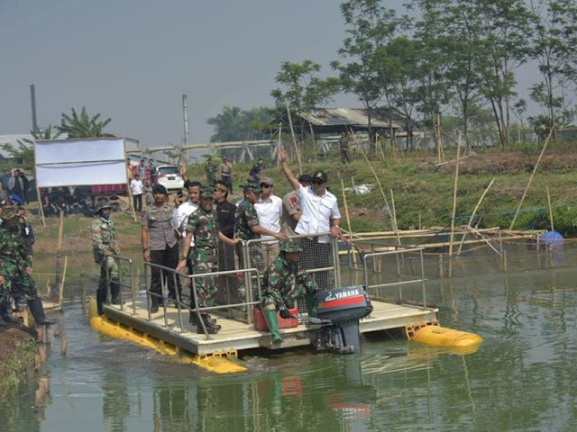 Ridwan Kamil: Bantaran Sungai Citarum Potensial Jadi Tempat Wisata