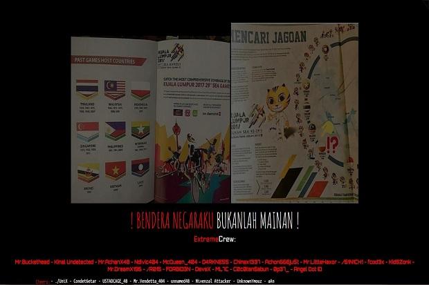 Total 27 Situs Malaysia Diamuk Hacker Indonesia, Ini Daftarnya