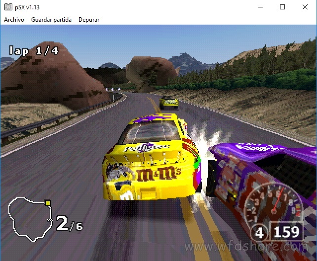 Nascar Rumble PS1 Portable - WFDShare.com