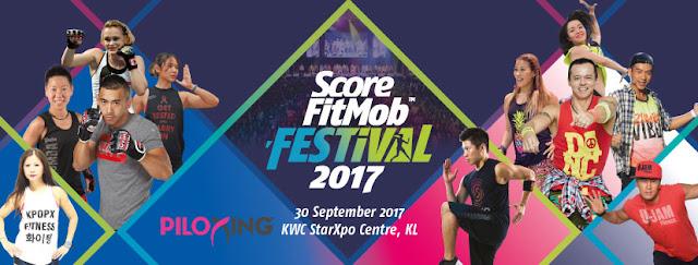 SCORE FitMob Festival 2017 Is Back