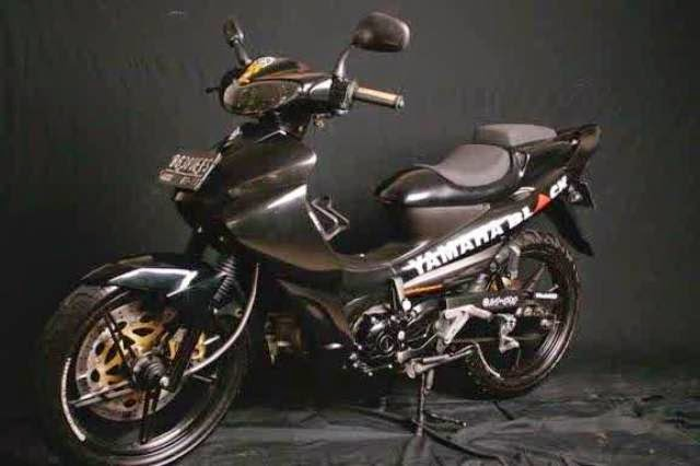 Modifikasi Motor Yamaha Jupiter Z 2010 Mono Black