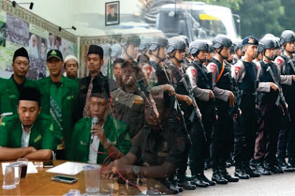 Hadapi Ancaman Banser! 2500 Personel Gabungan Siap Kawal 50 Ribu Massa HTI di Lapangan Karebosi