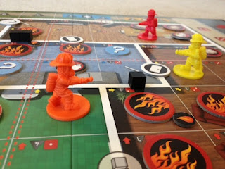 Flash Point game closeup of Firemen