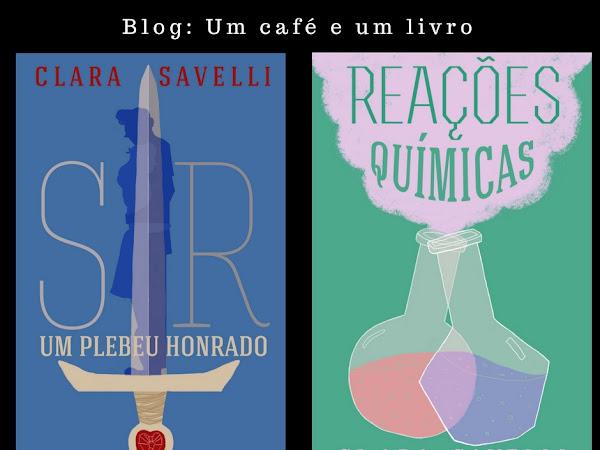 {Novos livros da Clara Savelli}