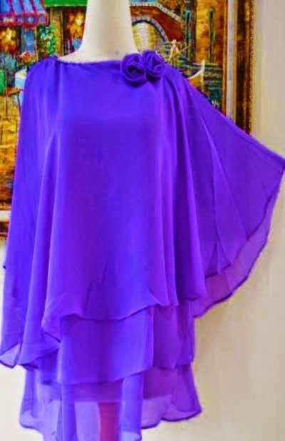 Model baju wanita kain sifon terbaru 2014