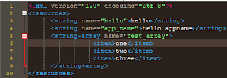 Tutorial Android Code, String Array Resources Pada Android