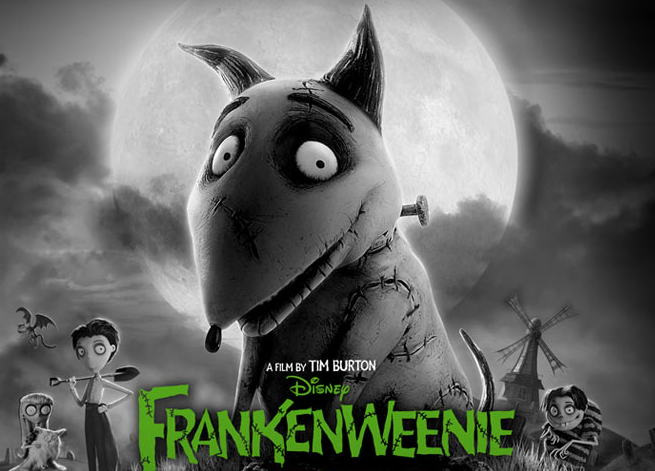 Passion For Movies Frankenweenie Tim Burton S Nostlagic Funny And Gothic Tale