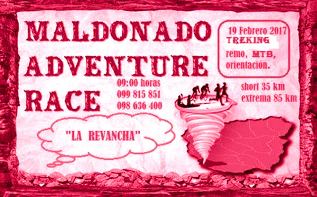 Aventura - Maldonado Adventure Race (19/feb/2017)