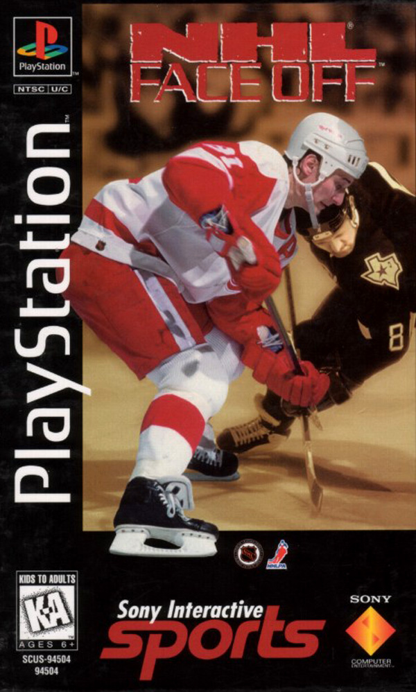 NHL Face Off  - PS1 - ISOs Download