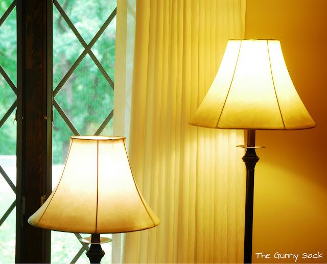 Living Room Lighting Makeover The Gunny Sack