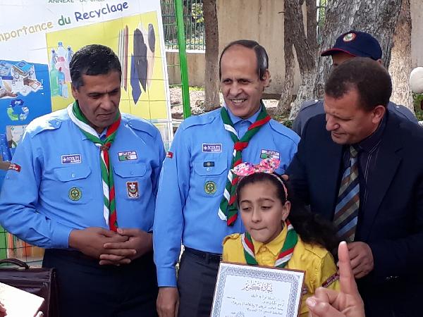 """القائد العام للكشافة الاسلامية الجزائرية  لـ صوت الشلف : """"نعمل مع الجميع لترقية الأداء الكشفي"""""""