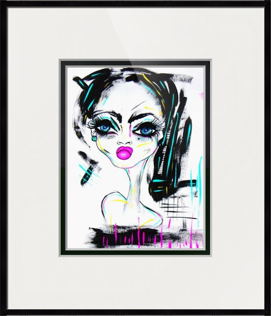 Bebee Pino framed artwork