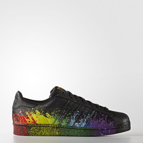 adidas Originals Superstar Preto Pride 2016