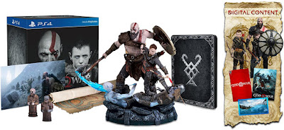 God of War Game Cover PS4 Collector's Edition Box Set