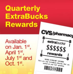 It's Quarterly Extrabucks Time CVS Couponers! October 1st 2019