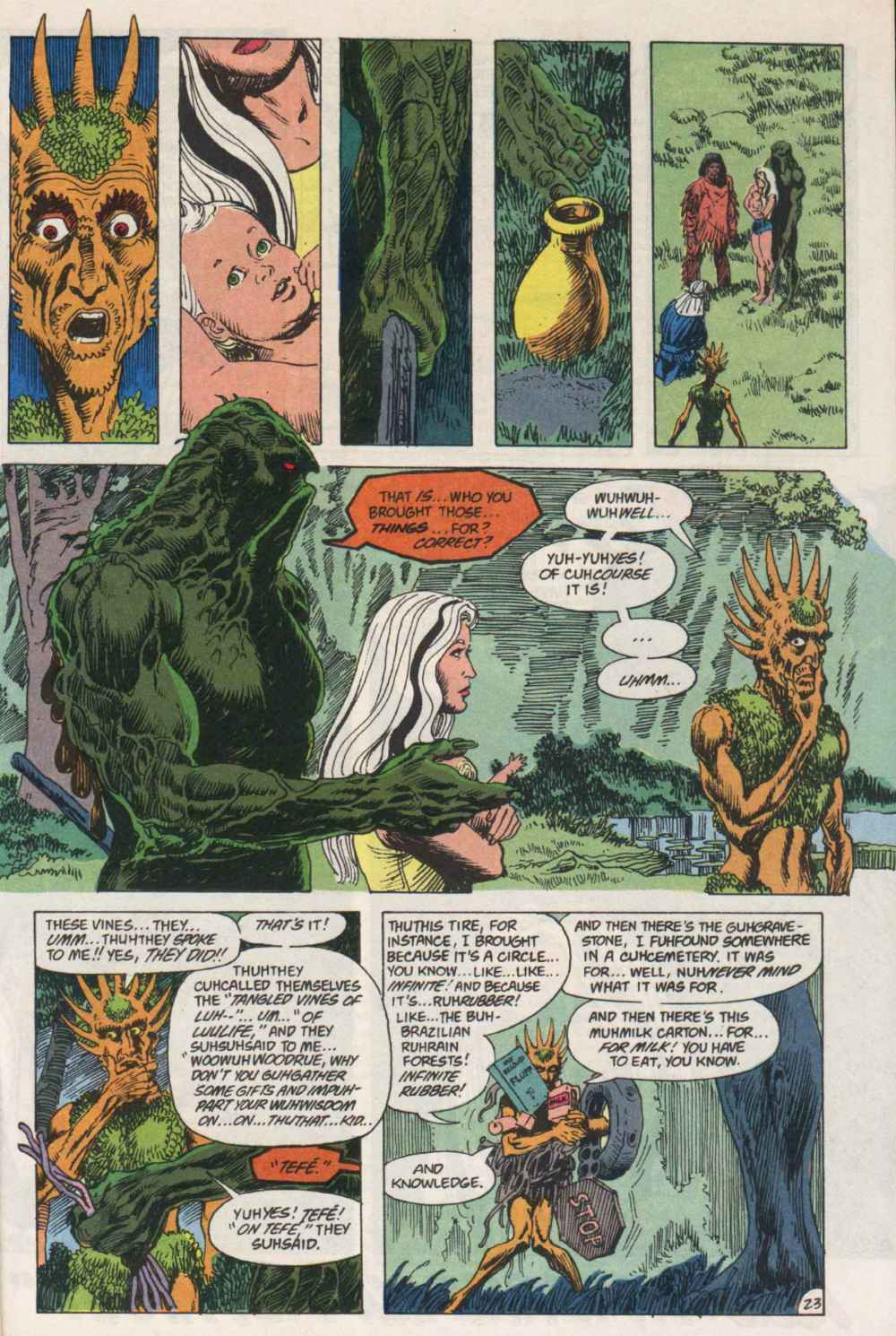 Swamp Thing (1982) Issue #91 #99 - English 22