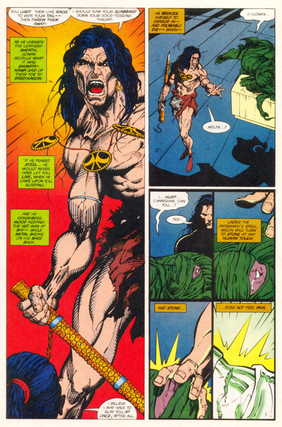 Read online Conan the Adventurer comic -  Issue #14 - 16