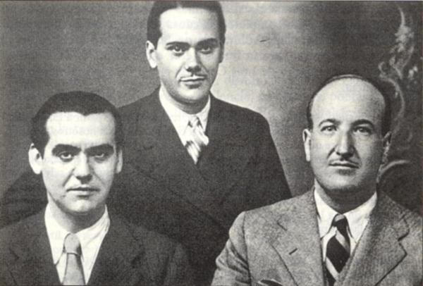 Lorca, Cernuda y Aleixandre