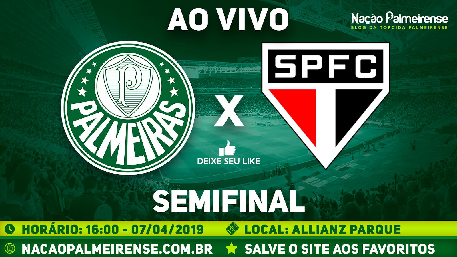 Assistir Palmeiras x São Paulo Ao Vivo