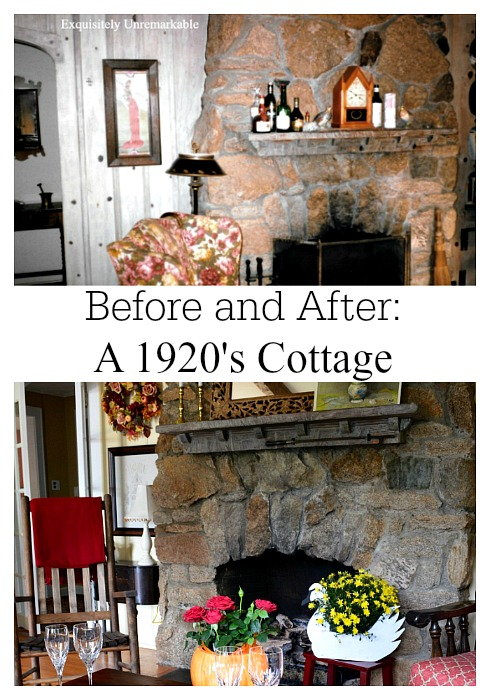 Before and After 1929 Cottage