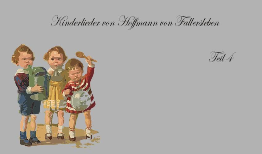 Gedichte Und Zitate Fur Alle Winter Ade Und Andere Gedichte Fur Kinder Von Hoffmann Von Fallersleben Teil 4