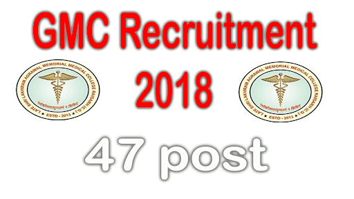 Government Medical College GMC Srinagar Interview Notice