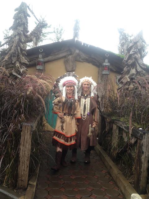 rumah indian the hobbit farm house lembang bandung