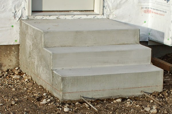 Build Concrete Steps Step By Guide