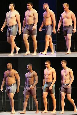 Diverse Male Body Types - bdsm relationships
