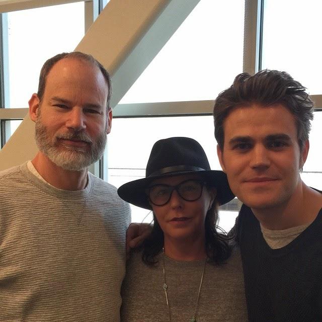 Vampire Diaries Paul Wesley and PLL's Marlene King