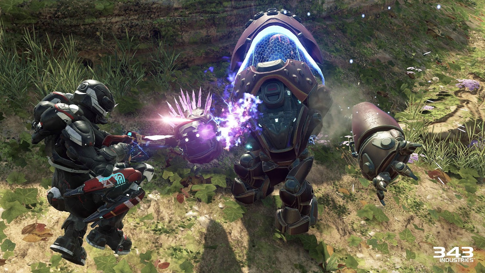 halo 5 guardians adds a mech grunt and unsc vehicle to warzone