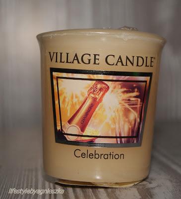 Village Candle - Celebration