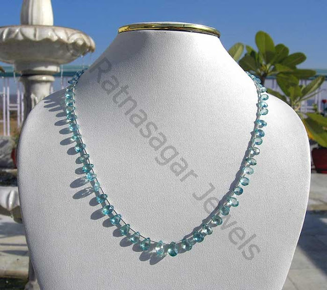 Blue Zircon Beads